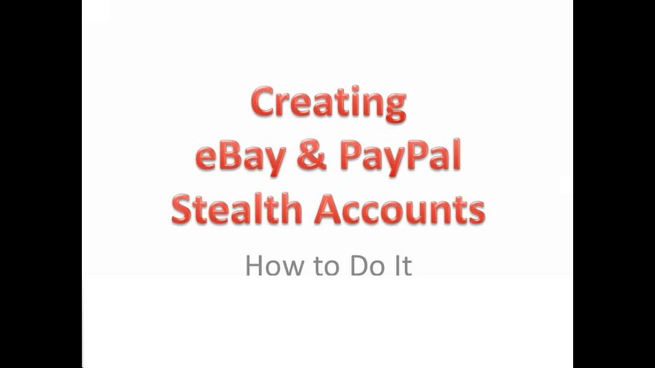 The eBay accounts are completely safe and reliable post thumbnail image