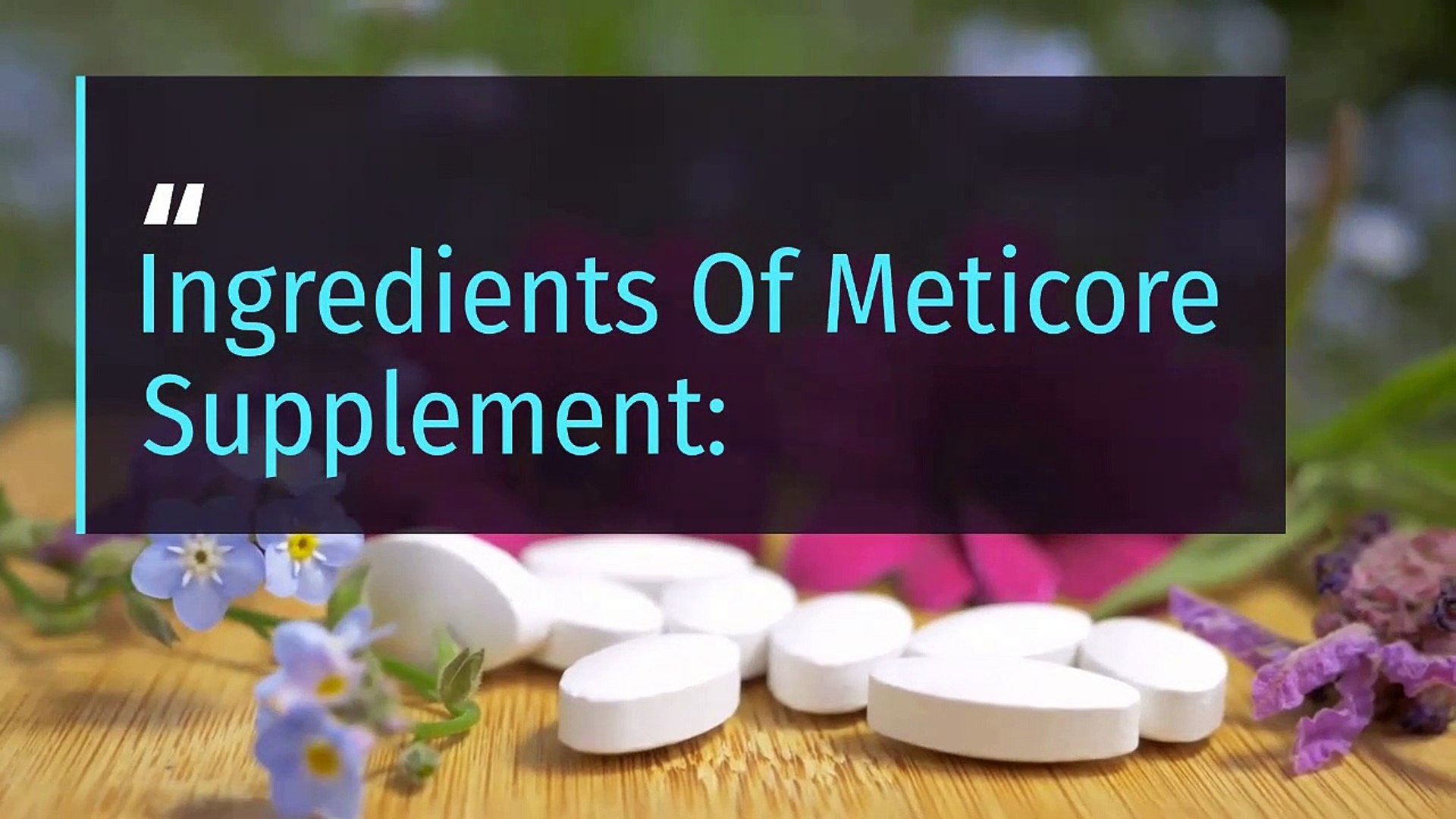 All You Need For Weight-Loss Is This Meticore Supplement post thumbnail image