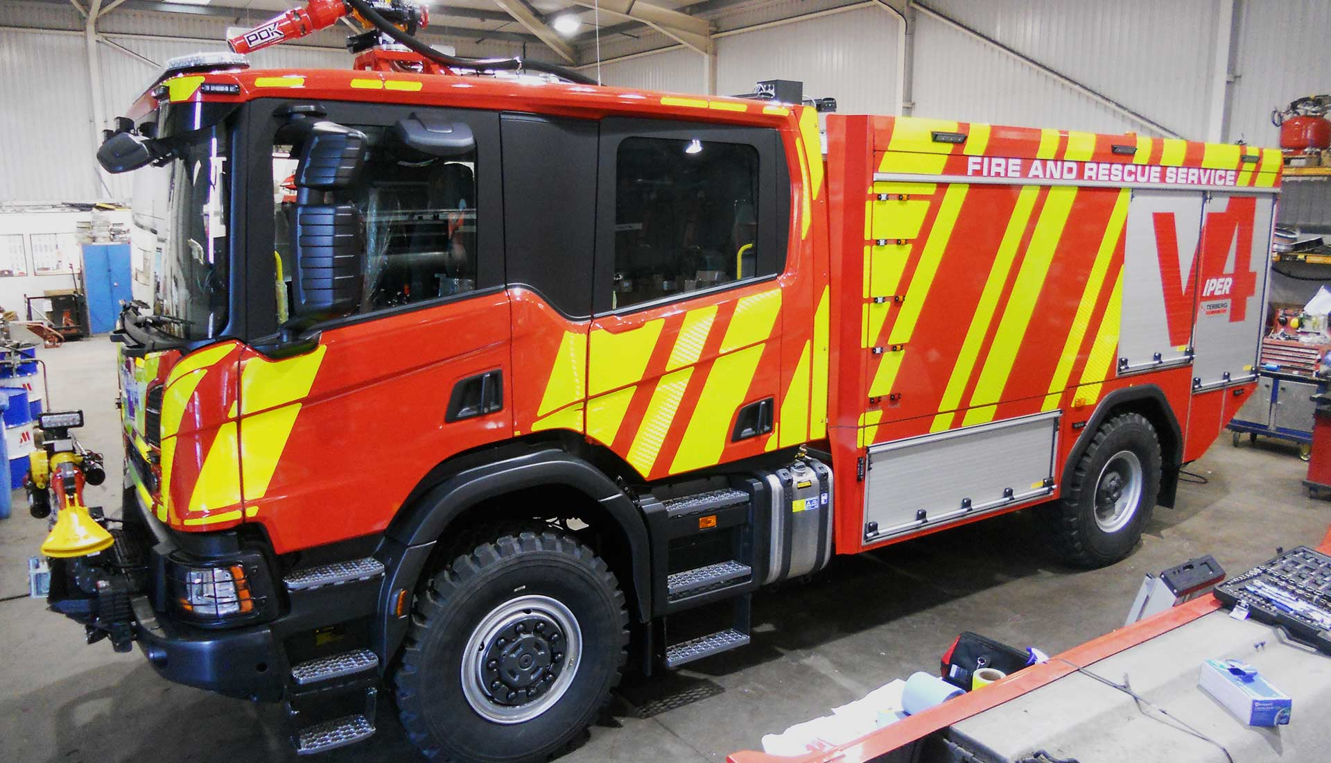 They have developed some Ground Support Equipment for sale that have to do with fire operations post thumbnail image